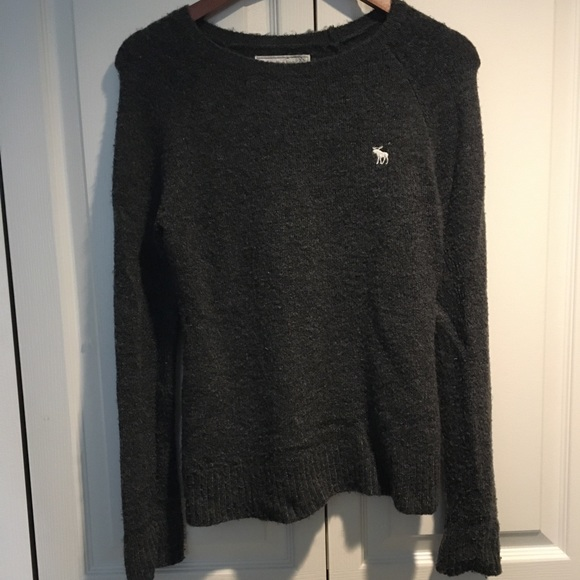 Abercrombie & Fitch women's grey sweater XS